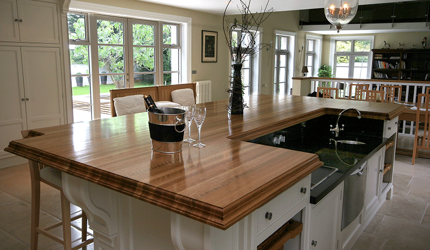 Aftercare and Maintenance of a Timber Worktop