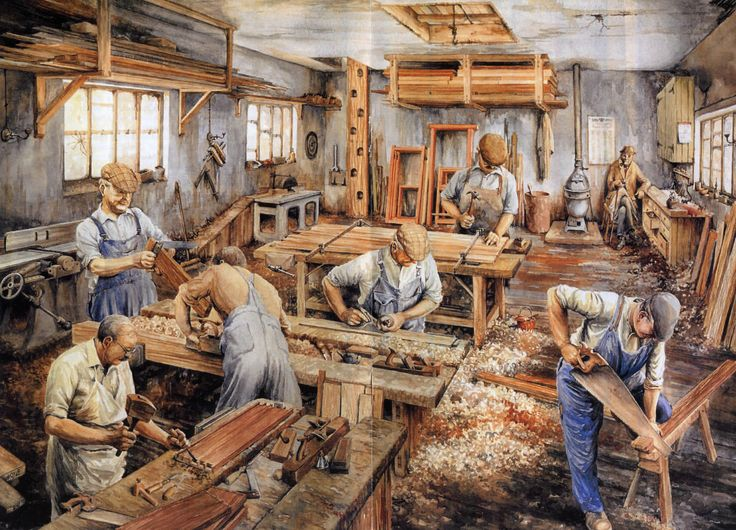 The history behind cabinet making